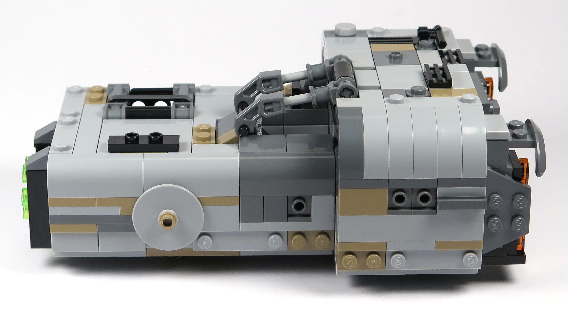 LEGO® Star Wars™ Moloch's Landspeeder™ (75210) - linke Seite | ©2018 Brickzeit