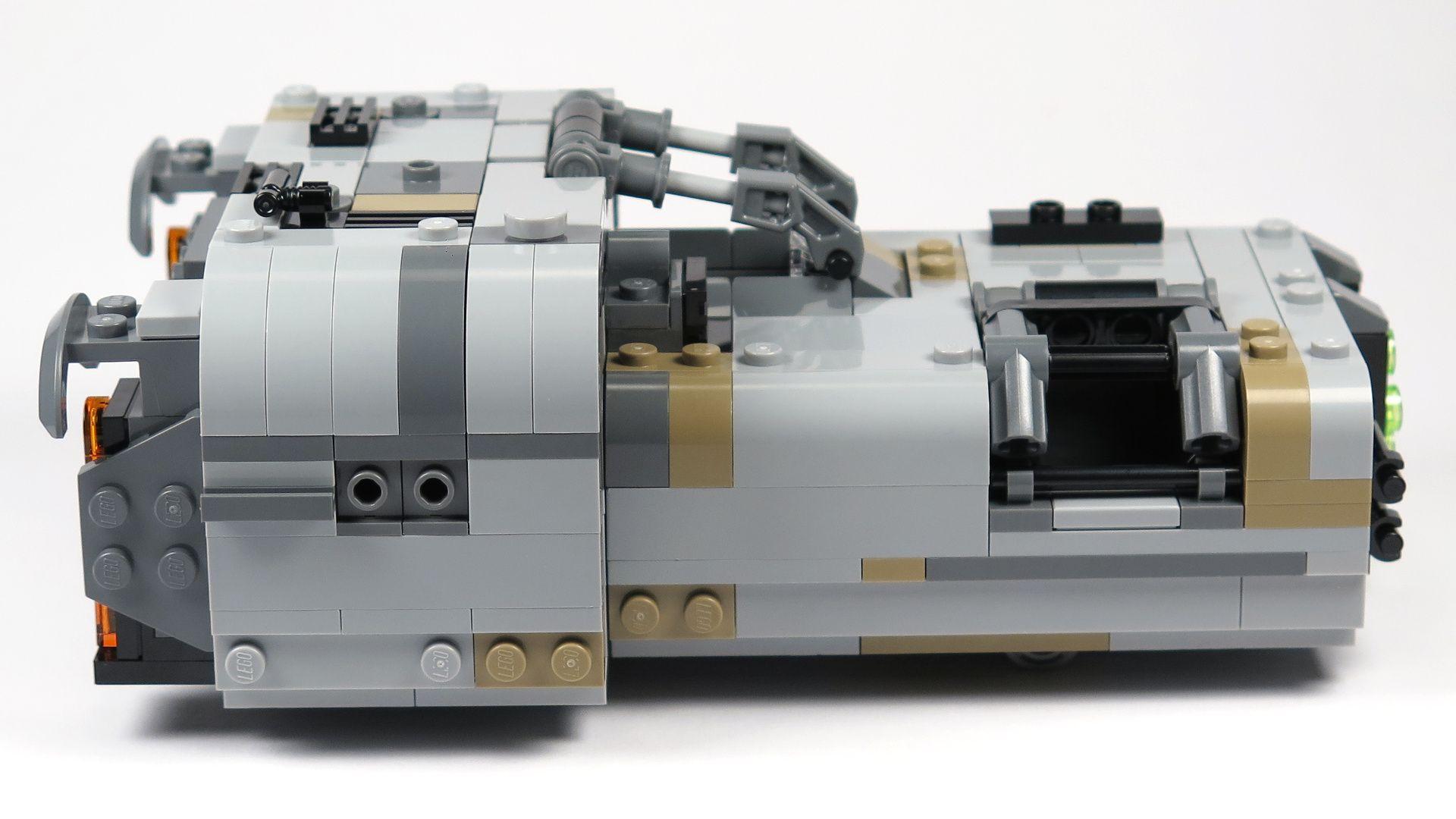LEGO® Star Wars™ Moloch's Landspeeder™ (75210) - rechte Seite | ©2018 Brickzeit