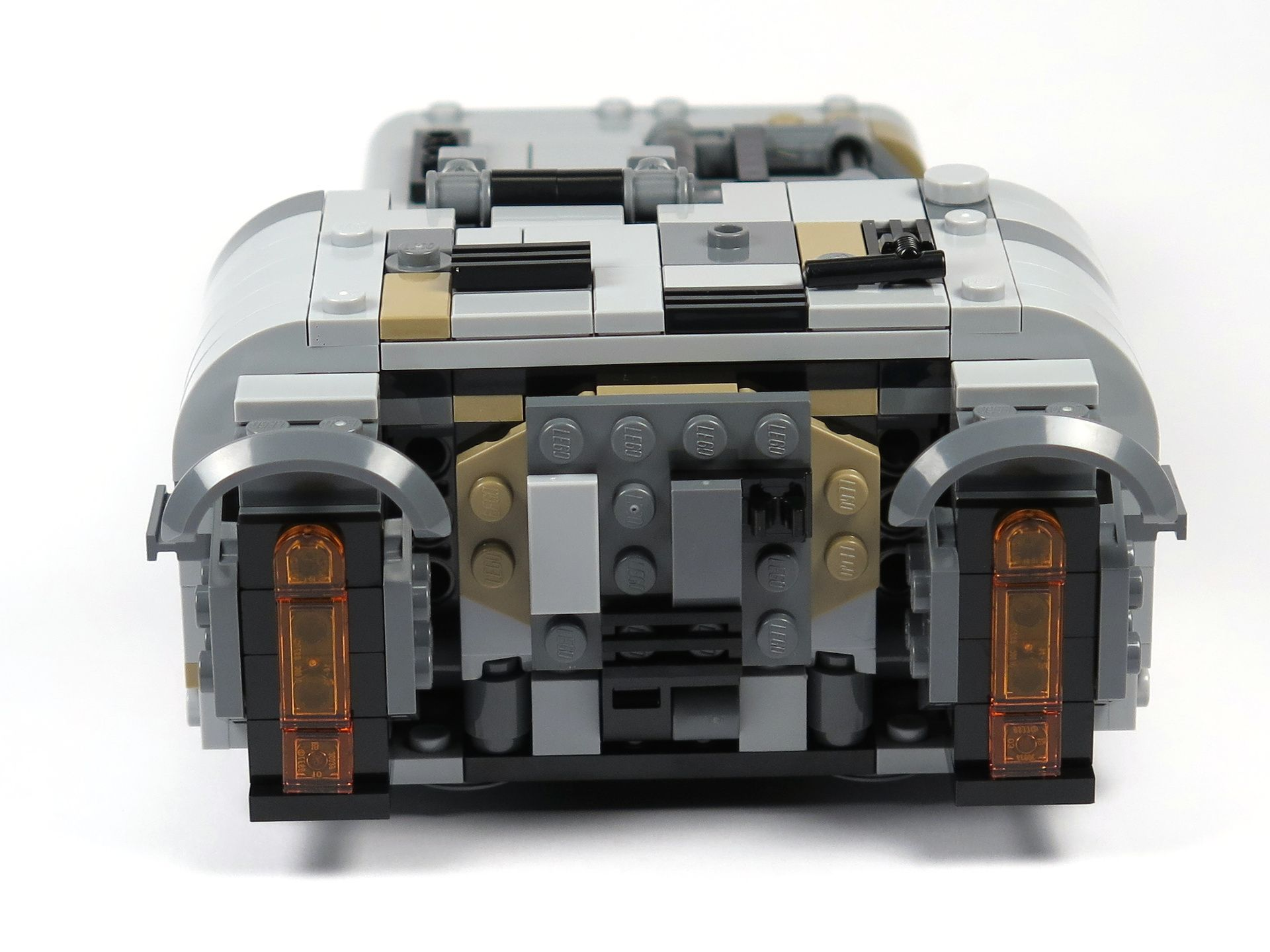 LEGO® Star Wars™ Moloch's Landspeeder™ (75210) - Rückseite | ©2018 Brickzeit