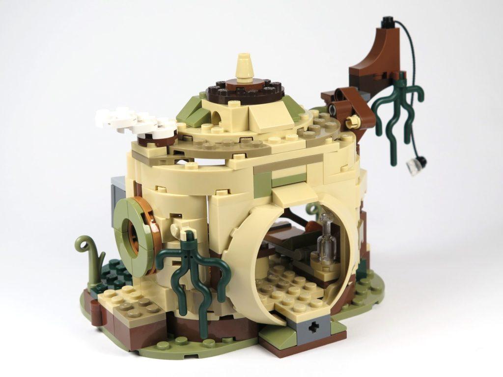 LEGO® Star Wars™ Yoda's Hütte (75208) - Hütte rechts vorne | ©2018 Brickzeit
