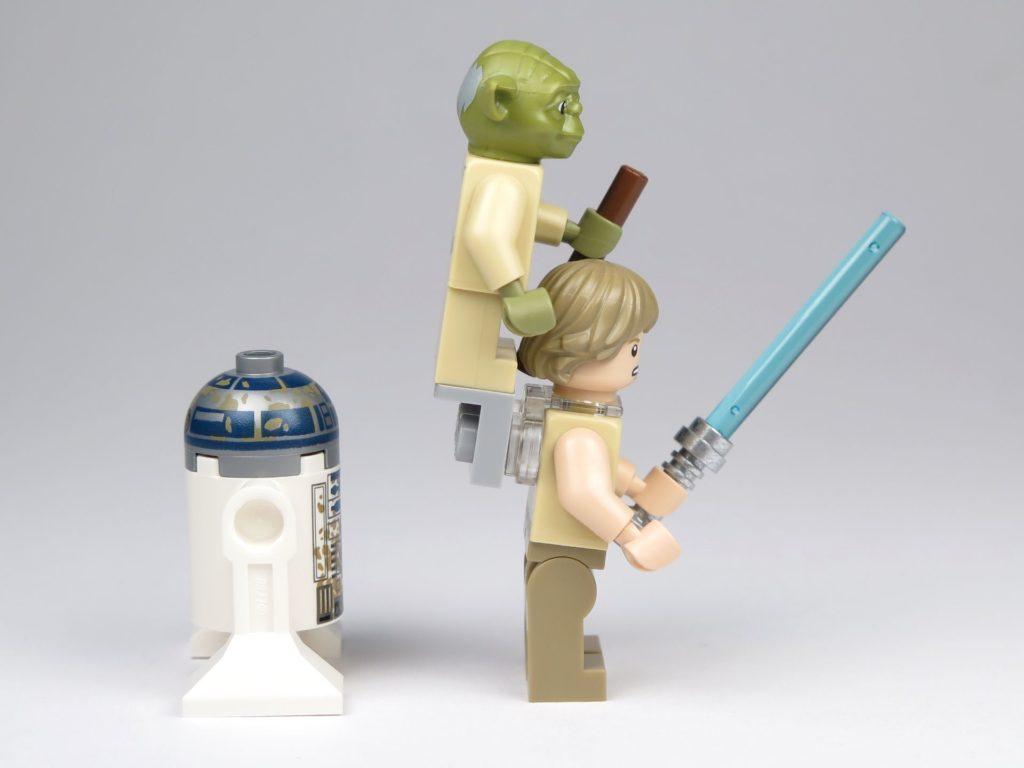 LEGO® Star Wars™ Yoda's Hütte (75208) - Minfiguren rechte Seite | ©2018 Brickzeit