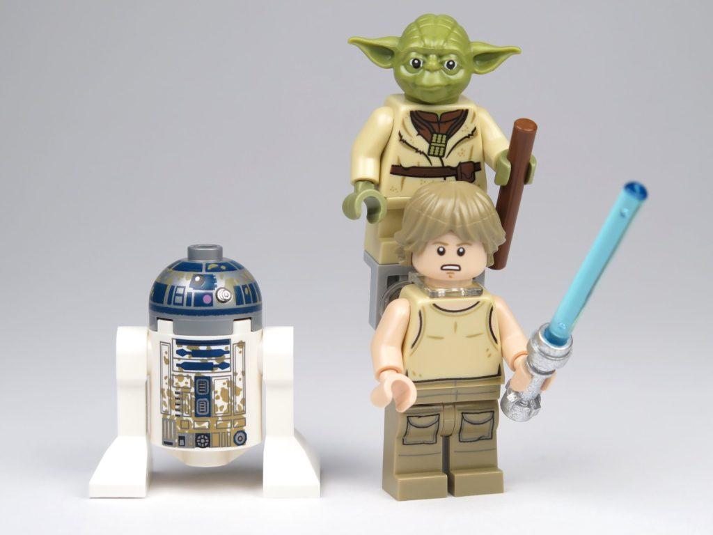 LEGO® Star Wars™ Yoda's Hütte (75208) - Minfiguren Vorderseite | ©2018 Brickzeit