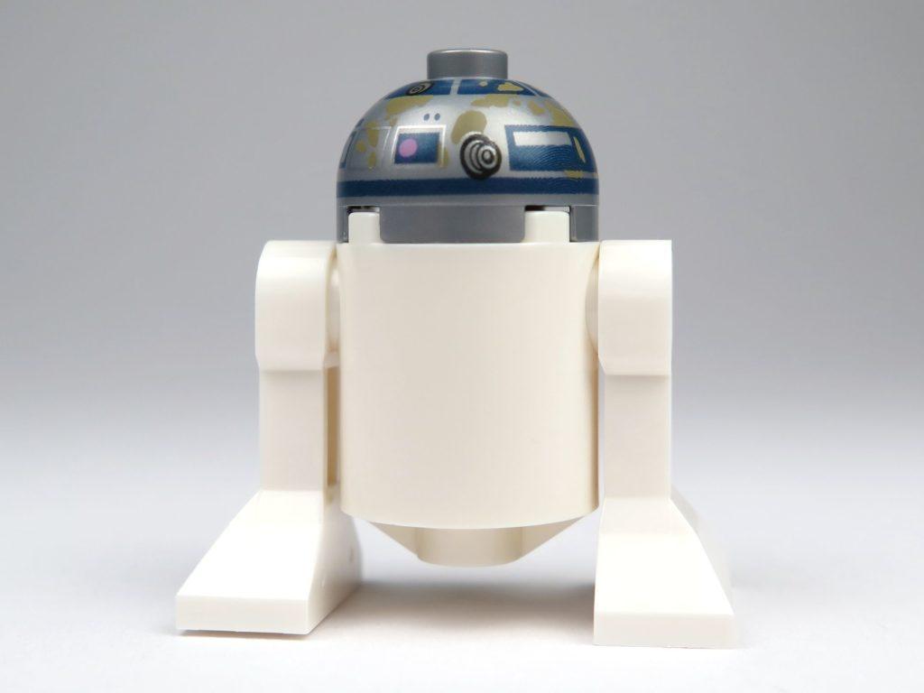 LEGO® Star Wars™ Yoda's Hütte (75208) - R2-D2 Rückseite | ©2018 Brickzeit