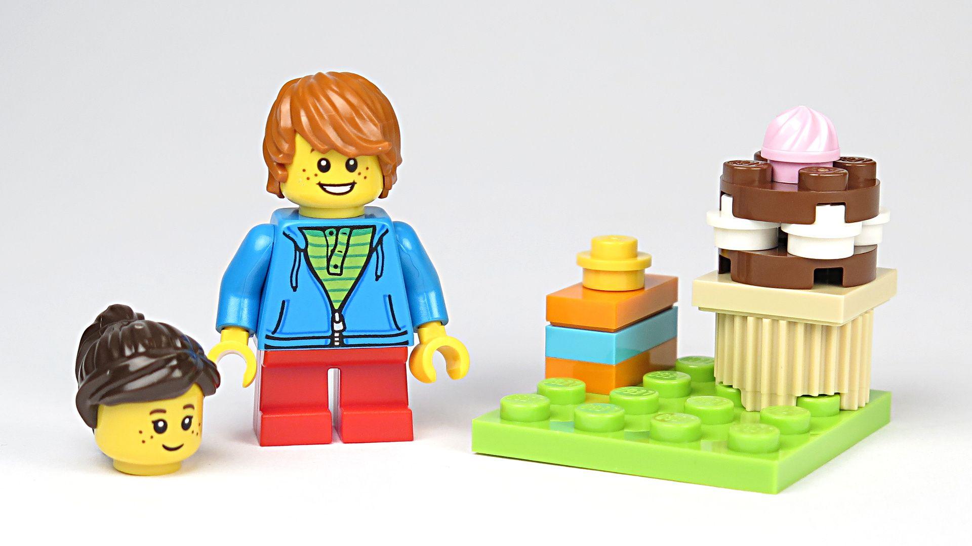 LEGO® Geburtstagskarte (5004931) - Set | ©2018 Brickzeit