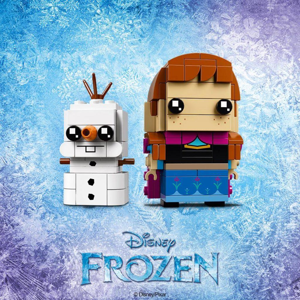 LEGO® Brickheadz Disney Frozen Anna und Olaf (41618) - Teaserbild | ©LEGO Gruppe