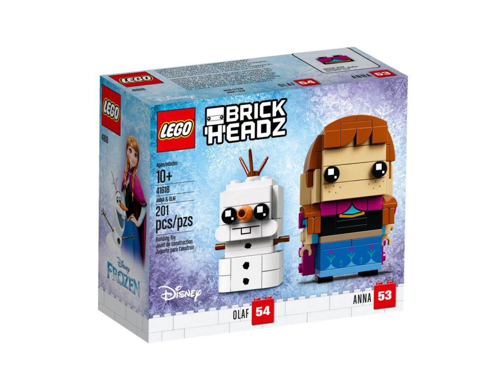 LEGO® Brickheadz™ Anna & Olaf (41618) - Bild 2 | ©LEGO Gruppe