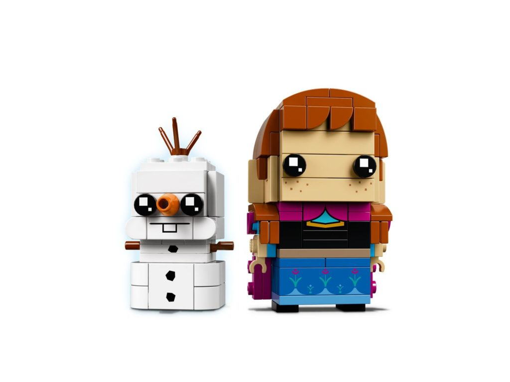 LEGO® Brickheadz™ Anna & Olaf (41618) - Bild 3 | ©LEGO Gruppe