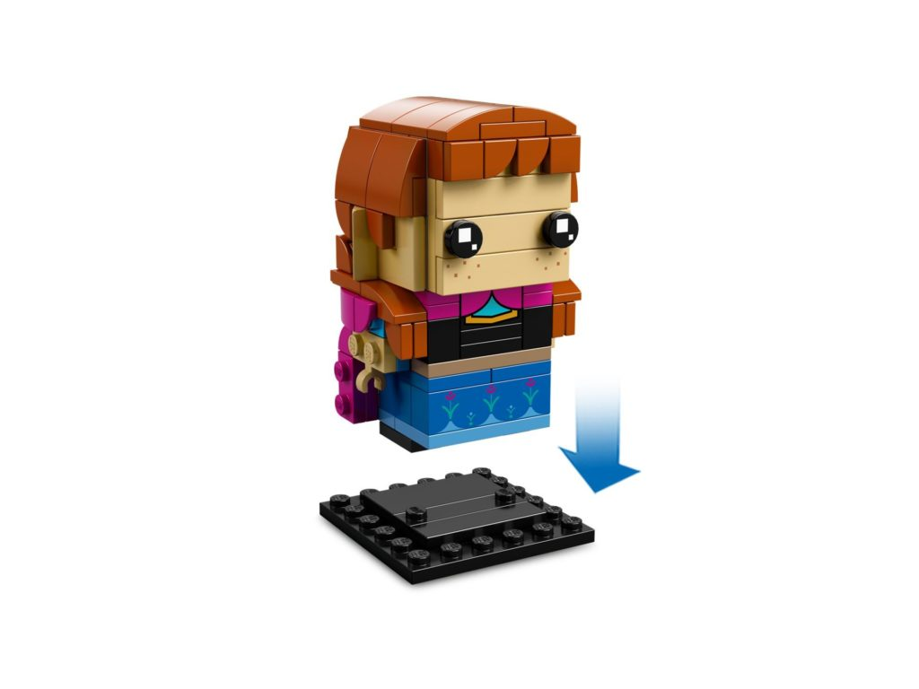LEGO® Brickheadz™ Anna & Olaf (41618) - Bild 4 | ©LEGO Gruppe