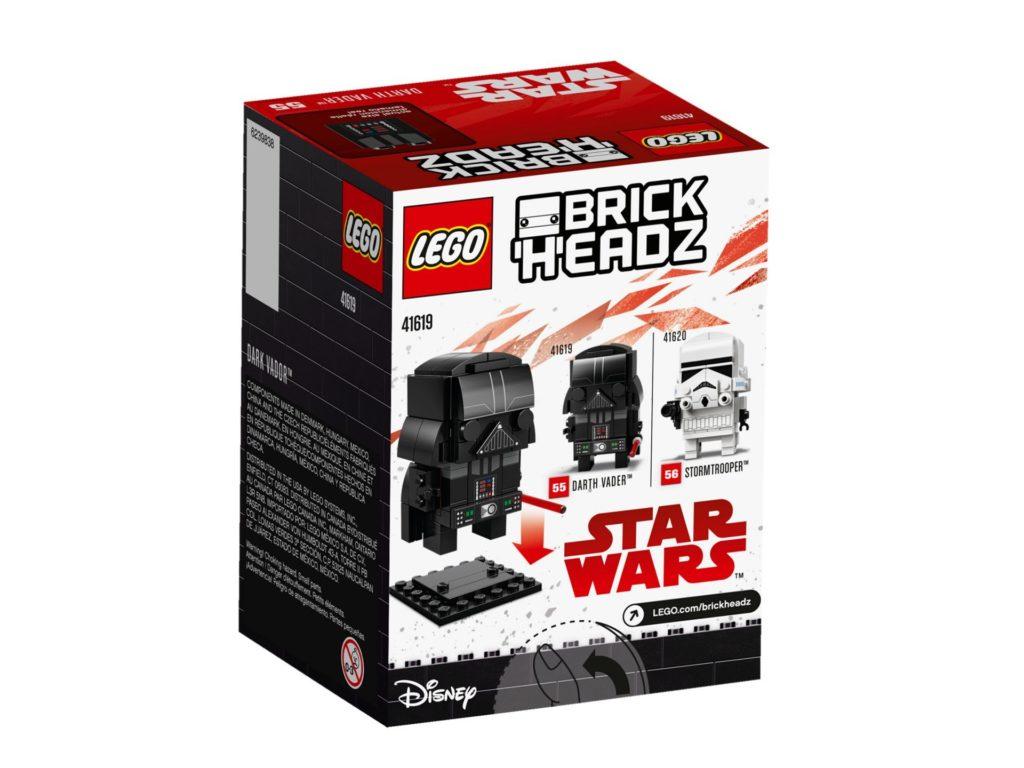LEGO® Brickheadz Star Wars Darth Vader (41619) Bild 2 | ©LEGO Gruppe