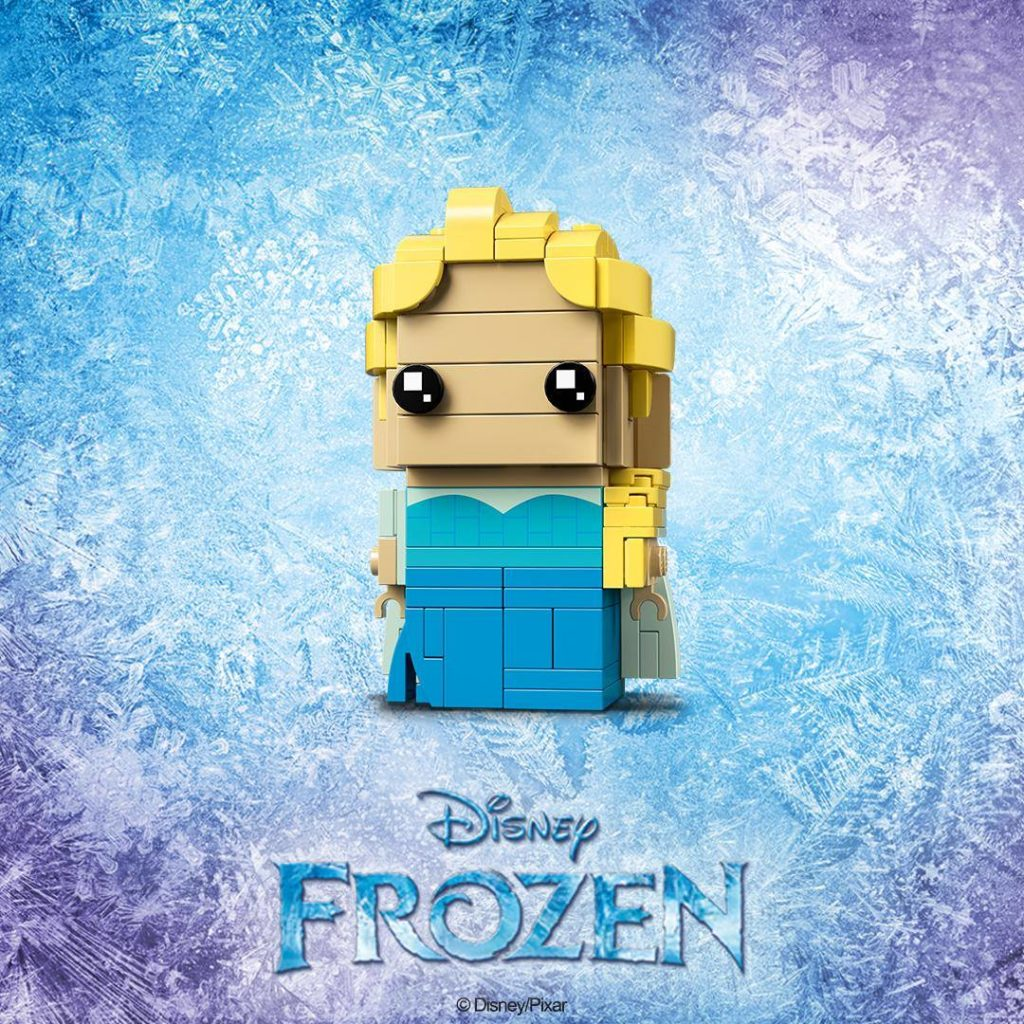 LEGO® Brickheadz Disney Frozen Elsa (41617) - Teaserbild | ©LEGO Gruppe