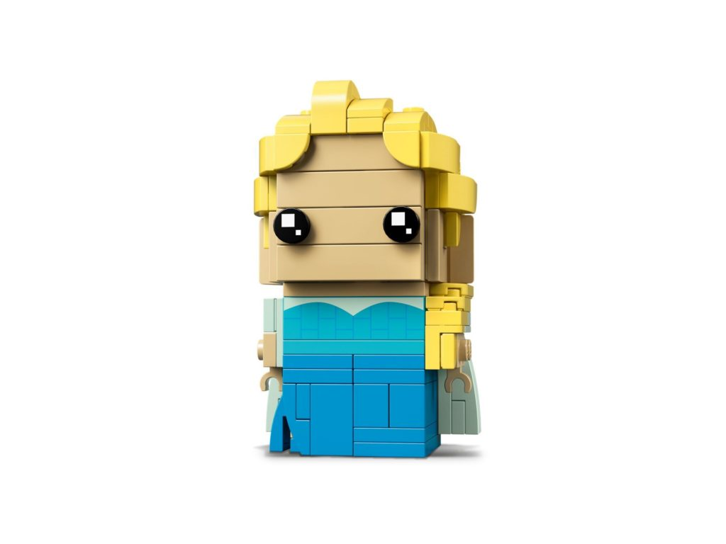 LEGO® Brickheadz™ Elsa (41617) Bild 3 | ©LEGO Gruppe