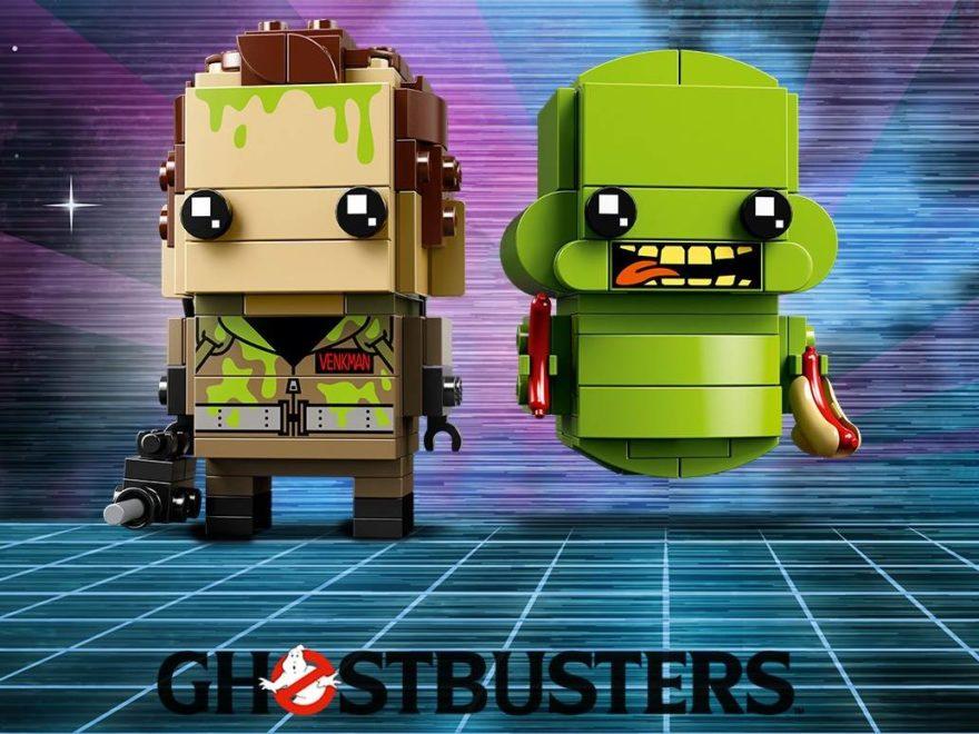 LEGO Brickhead Ghostbusters Dr. Venkman und Slimer (41622) Teaserbild | ©LEGO Gruppe