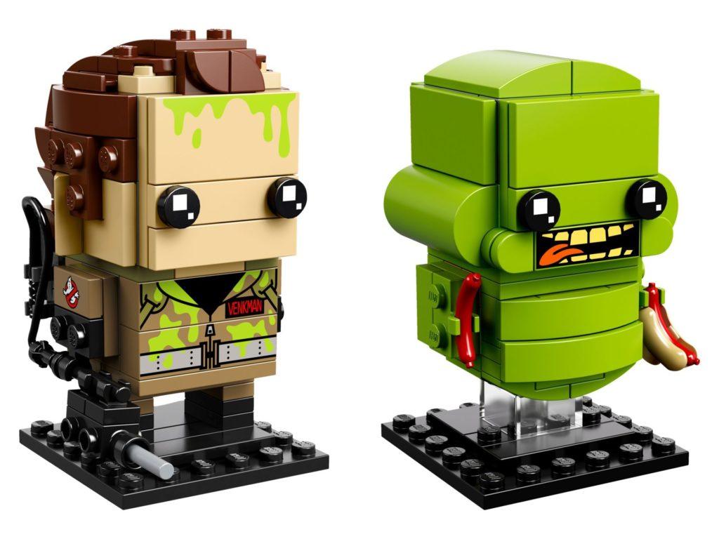 LEGO® Brickheadz™ Ghostbusters Peter Venkman und Slimer | ©LEGO Gruppe