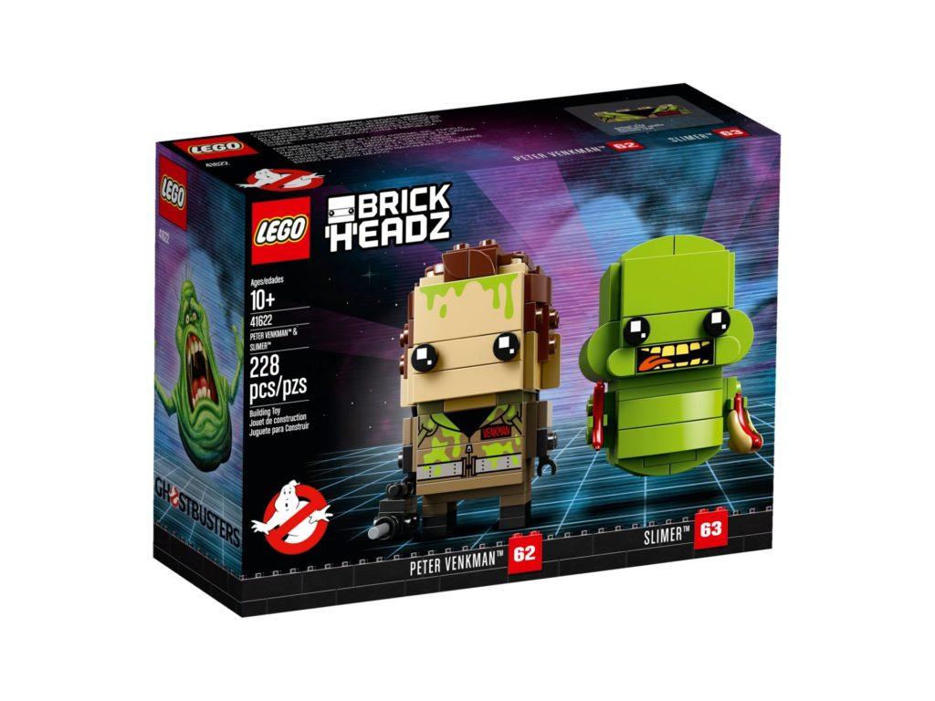 LEGO® Brickheadz™ Ghostbusters Peter Venkman und Slimer - Bild 2 | ©LEGO Gruppe