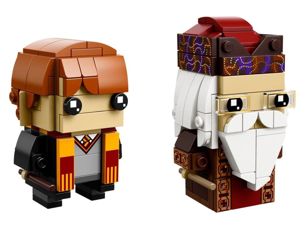LEGO® Brickheadz Ron Weasley und Albus Dumbledore (41621) Bild 1 | ©LEGO Gruppe