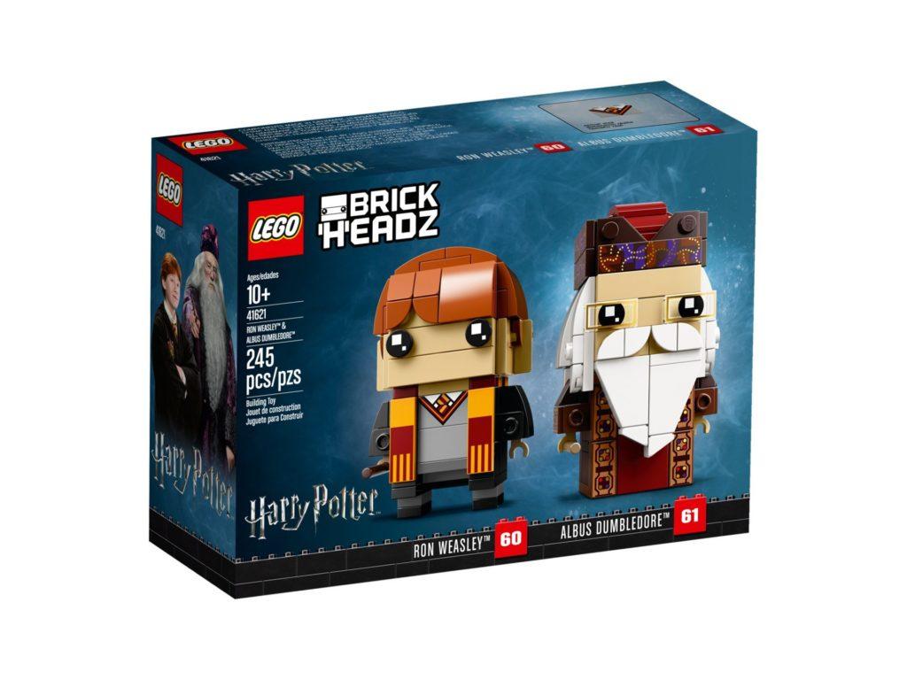 LEGO® Brickheadz Ron Weasley und Albus Dumbledore (41621) Bild 4 | ©LEGO Gruppe
