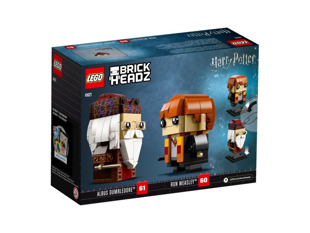 LEGO® Brickheadz Ron Weasley und Albus Dumbledore (41621) Bild 2 | ©LEGO Gruppe