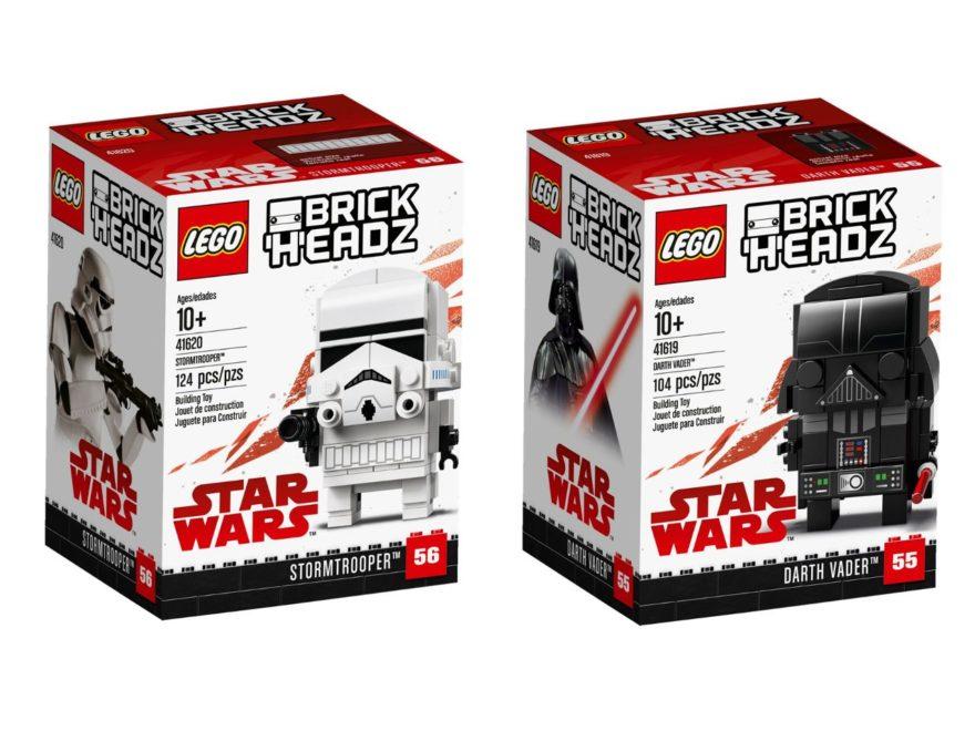 LEGO Star Wars Brickheadz Darth Vader und Stromtrooper - Titelbild | ©LEGO Gruppe