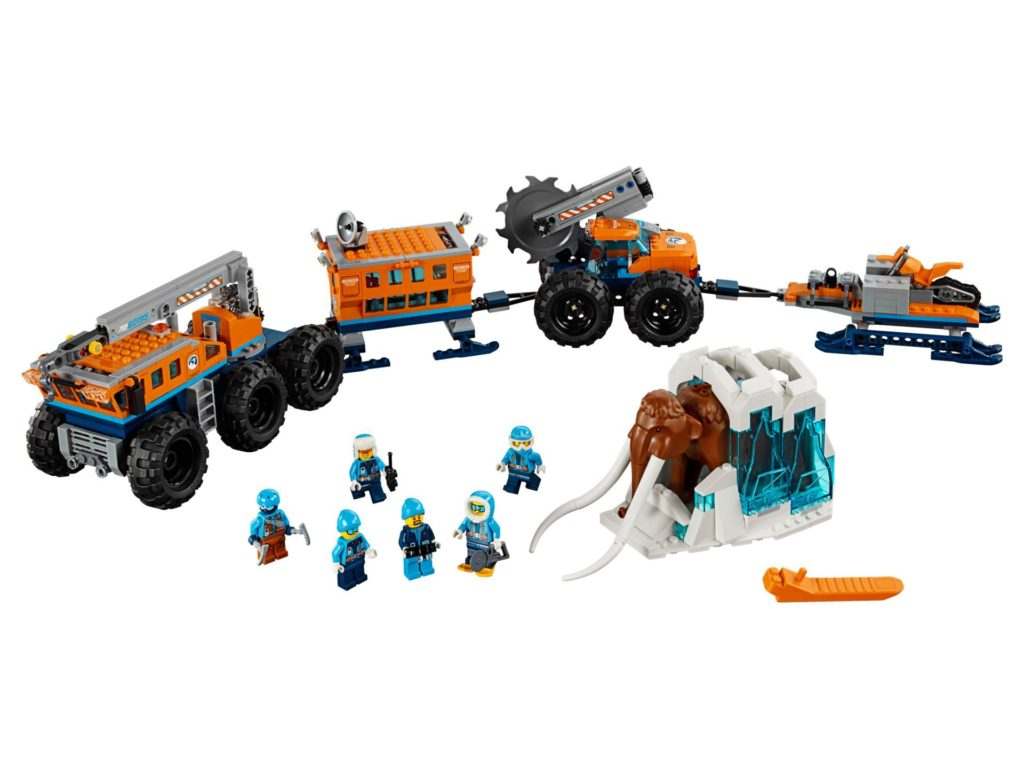 LEGO City 60195 Mobile Arktis-Forschungsstation | ®LEGO Gruppe