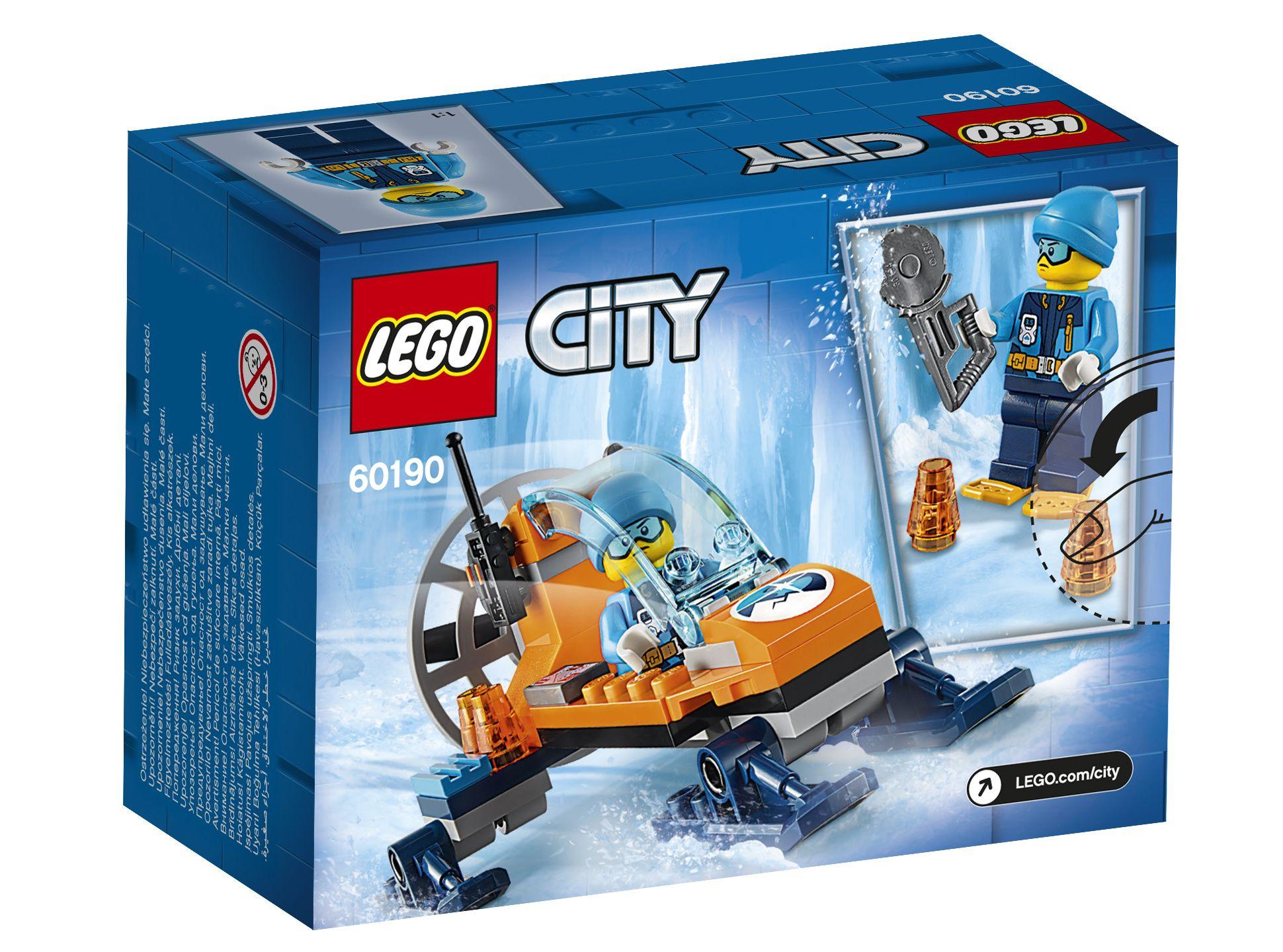 LEGO® City Arktis-Eisgleiter (60190) - Packung | ©LEGO Gruppe