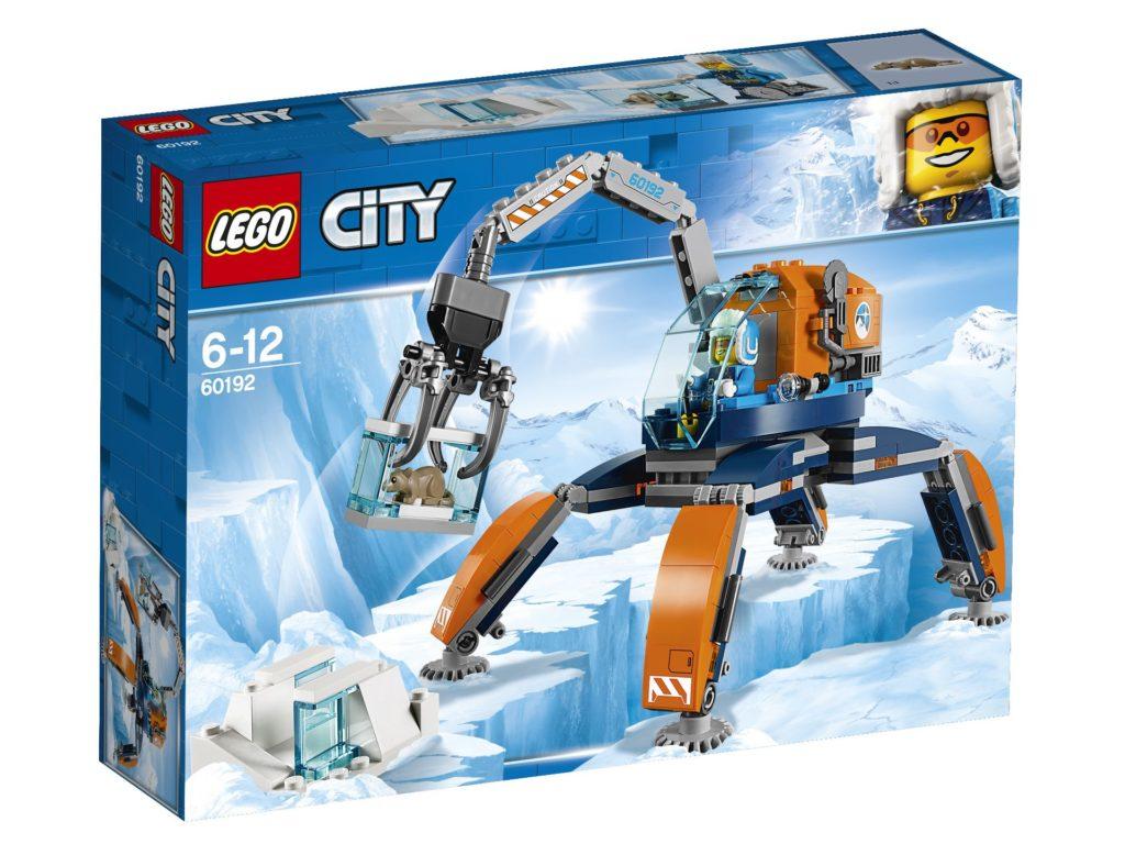 LEGO® City Arktis-Eiskran auf Stelzen (60192) - Packung | ©LEGO Gruppe
