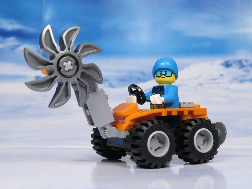 LEGO® City Arktis Eissäge - Set ohne Eisblock | ®2018 Brickzeit