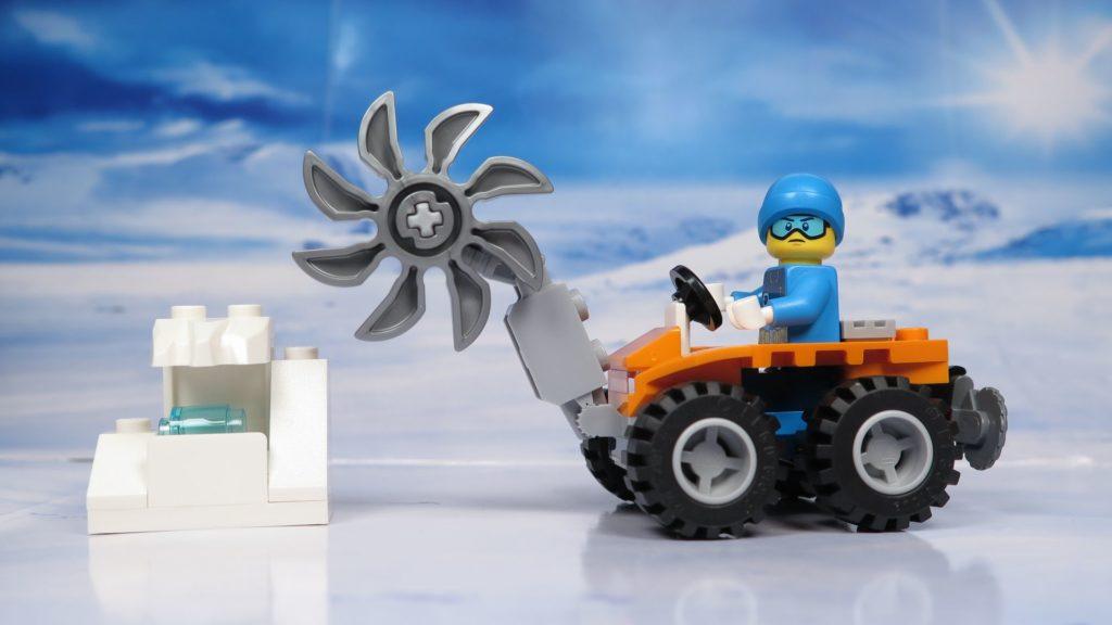 LEGO® City Arktis Eissäge - Set | ®2018 Brickzeit