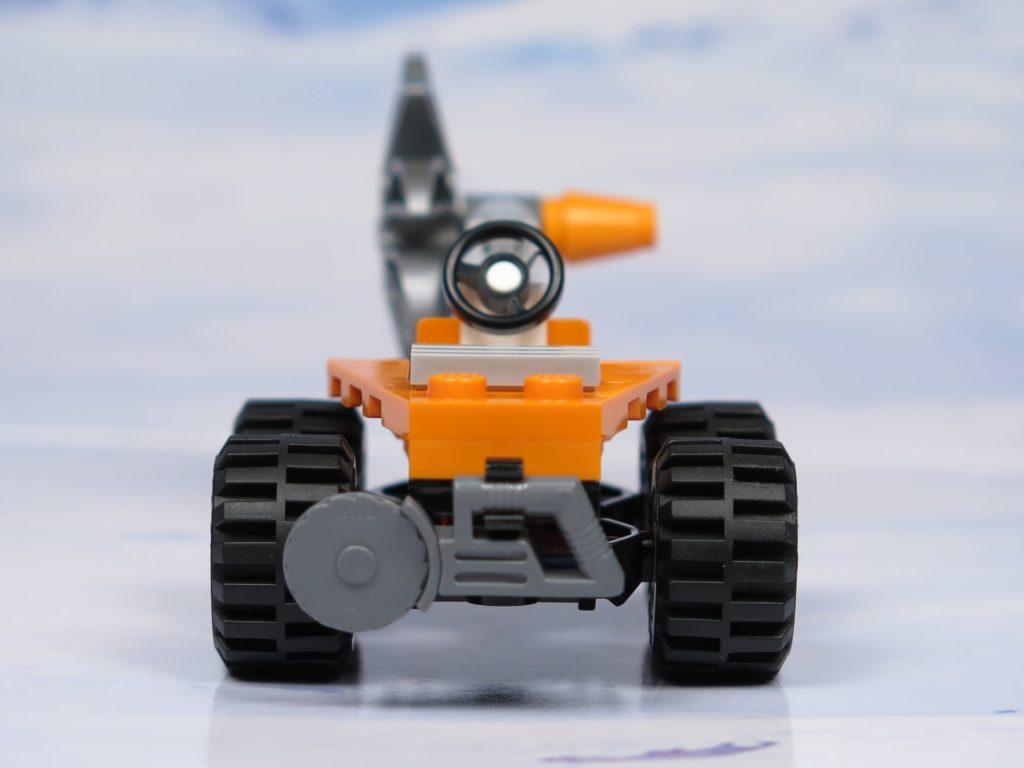 LEGO® City Arktis Eissäge - Fahrzeug, Rückseite | ®2018 Brickzeit