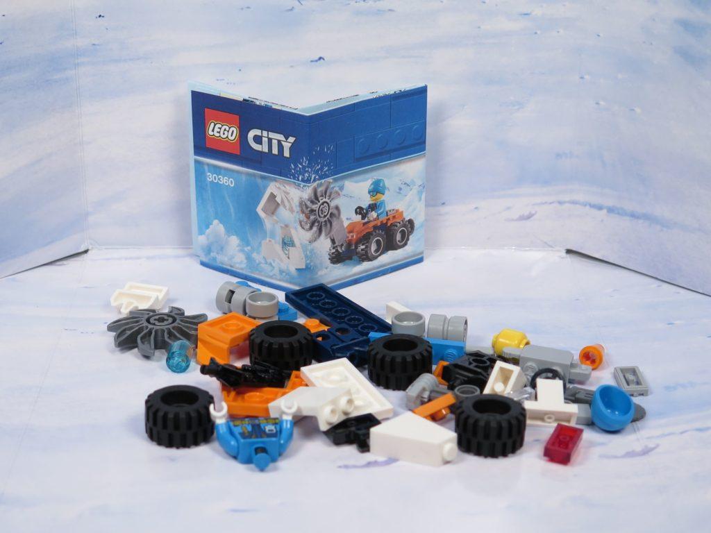 LEGO® City Arktis Eissäge - Inhalt | ®2018 Brickzeit