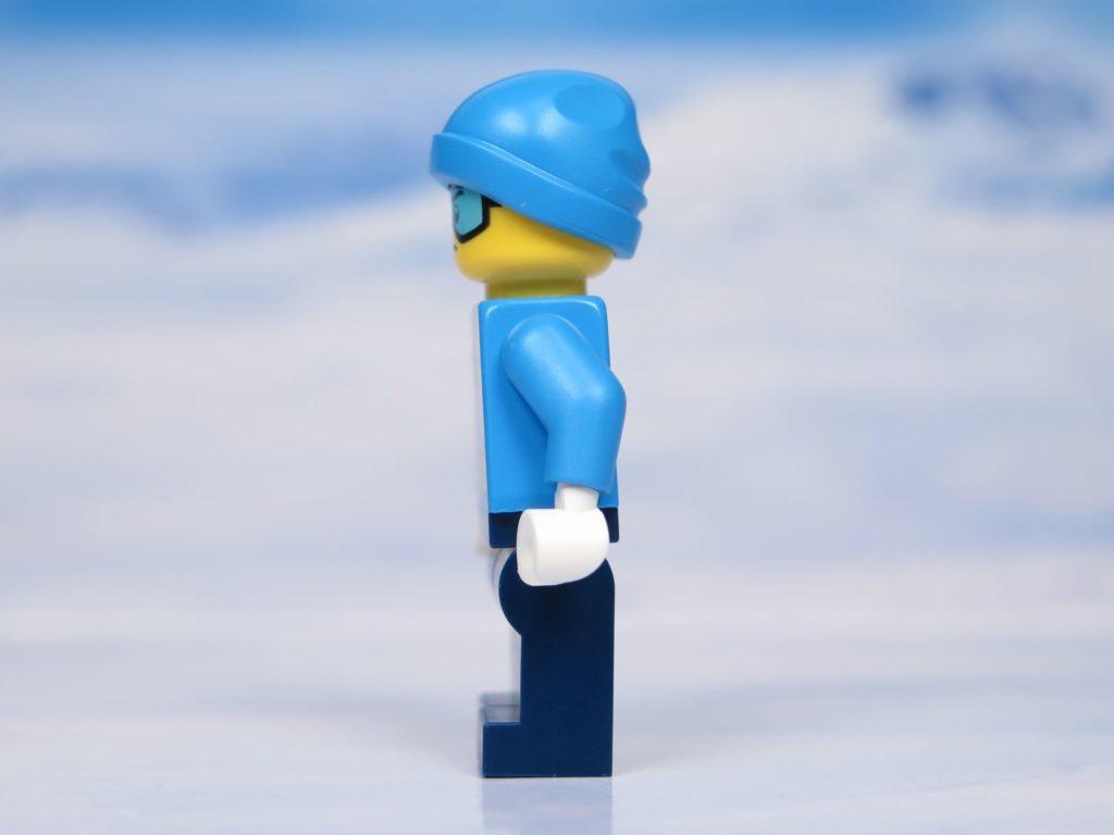 LEGO® City Arktis Eissäge - Minifigur, linke Seite | ®2018 Brickzeit