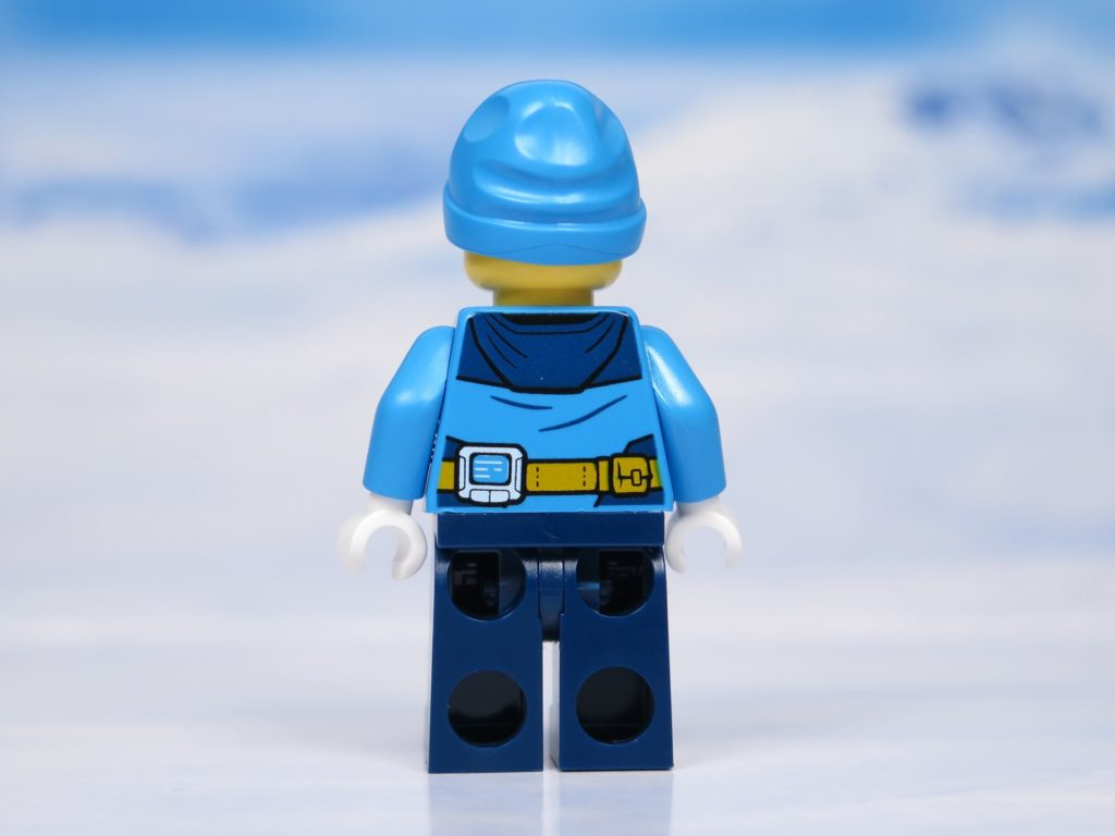 LEGO® City Arktis Eissäge - Minifigur, Rückseite | ®2018 Brickzeit