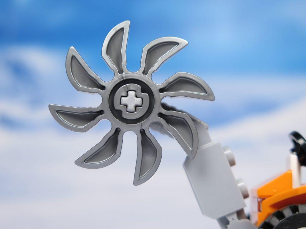 LEGO® City Arktis Eissäge - Säge Nahaufnahme | ®2018 Brickzeit