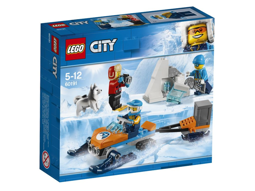 LEGO® City Arktis-Expeditionsteam (60191) - Packung | ©LEGO Gruppe