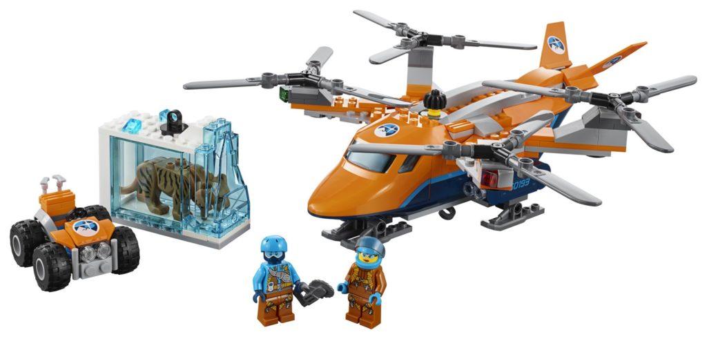 LEGO® City Arktis-Frachtflugzeug (60193) - Produkt | ©LEGO Gruppe