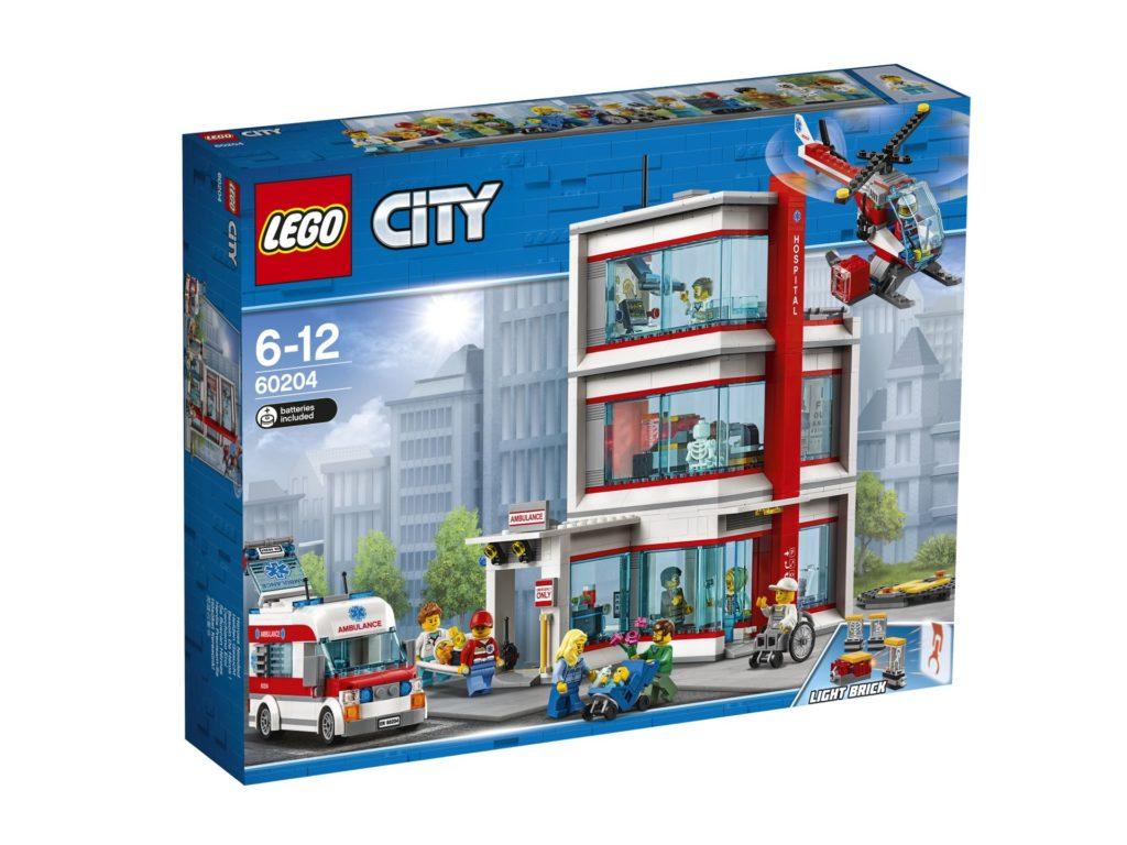 LEGO® City Krankenhaus (60204) - Packung | ©LEGO Gruppe