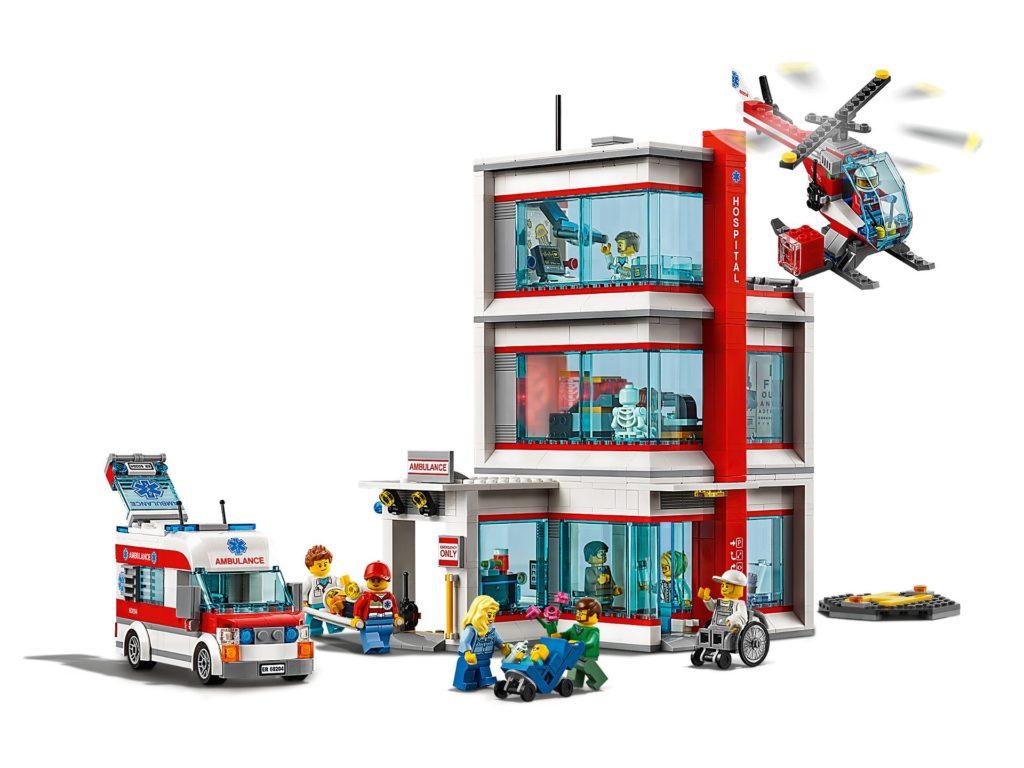 LEGO® City Krankenhaus (60204) - Produkt | ©LEGO Gruppe
