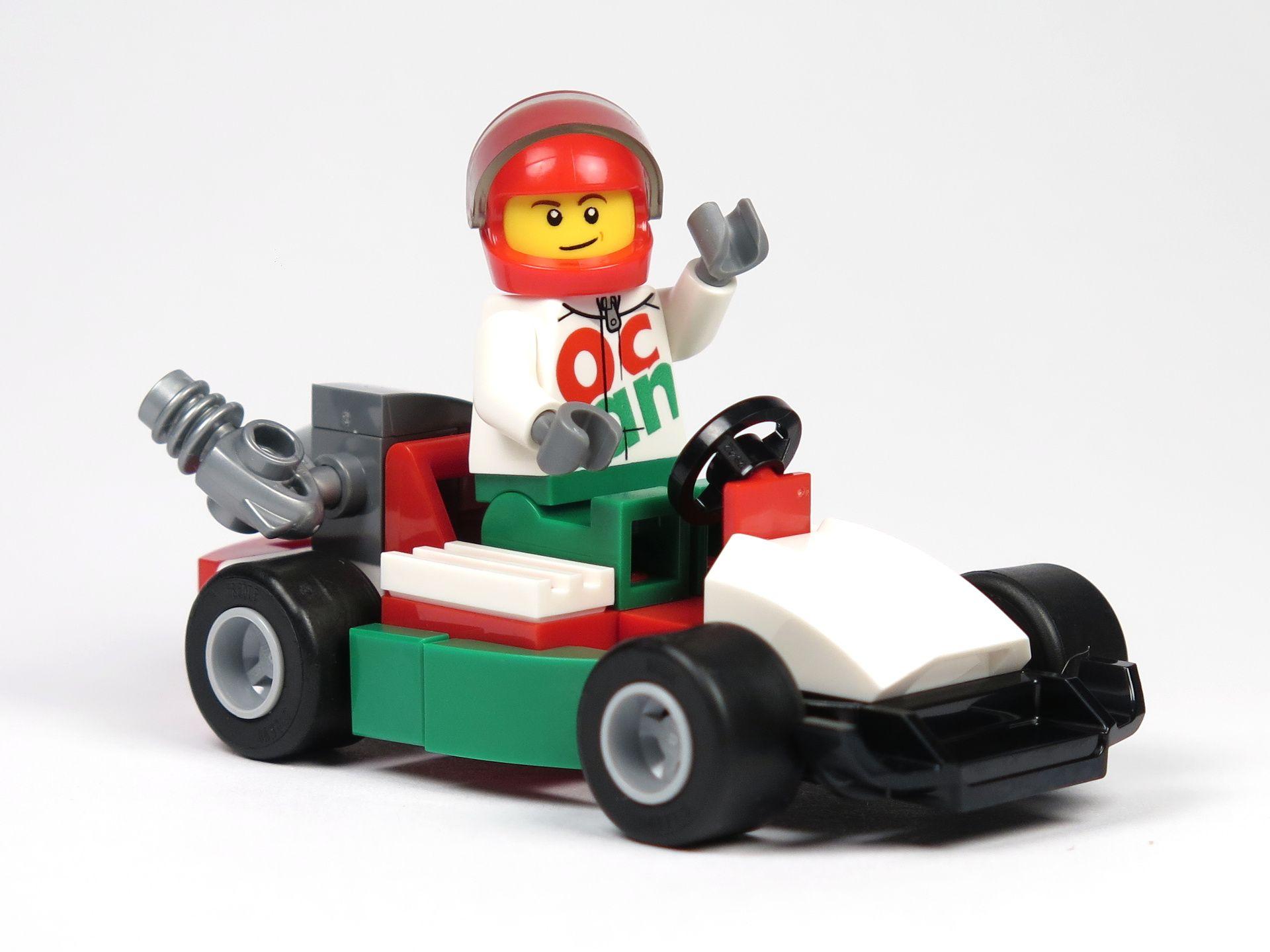 LEGO® City Magazin Nr. 7 - Rennwagen mit Fahrer | 2018 Brickzeit