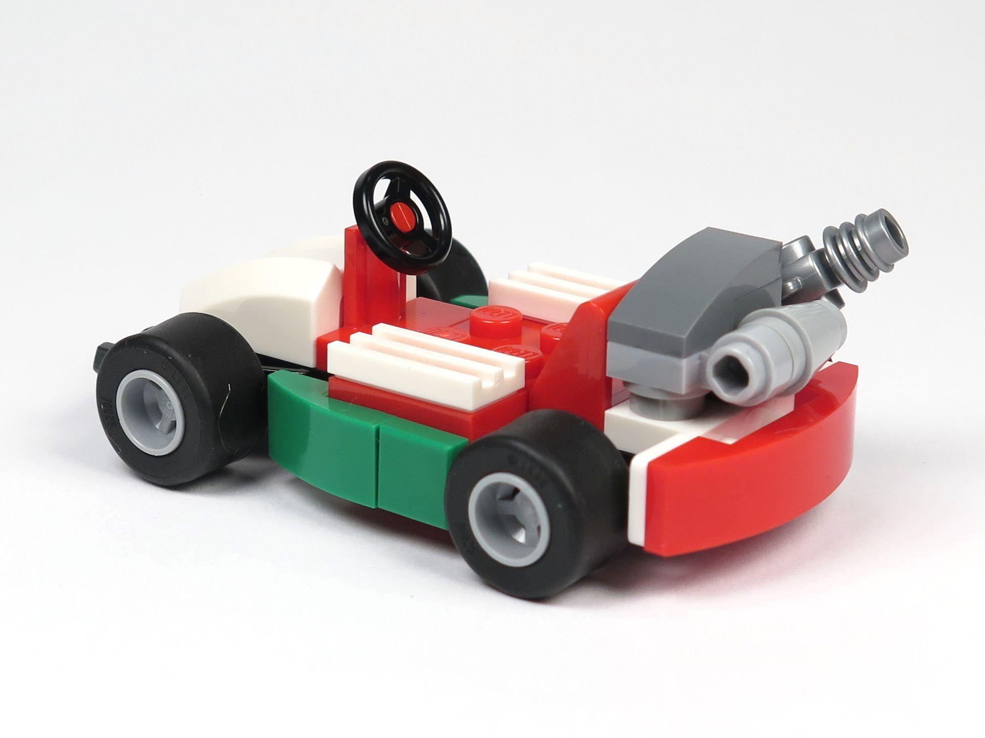 LEGO® City Magazin Nr. 7 - Rennwagen Perspektive Rückseite | 2018 Brickzeit