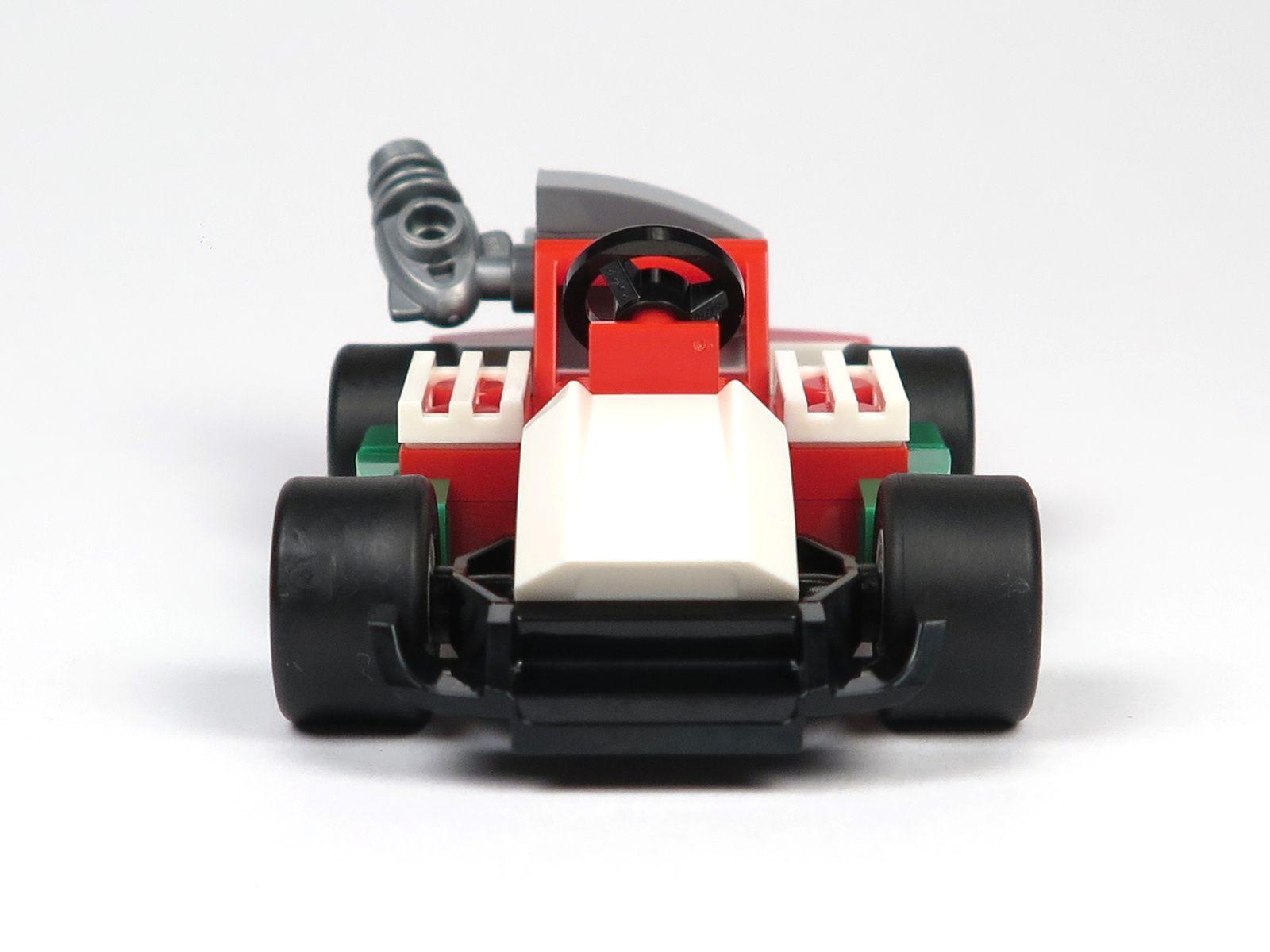 LEGO® City Magazin Nr. 7 - Rennwagen Vorderseite | 2018 Brickzeit