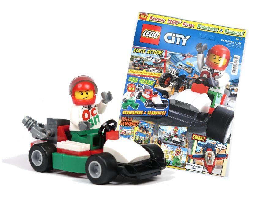 LEGO® City Magazin Nr. 7 - Titelbild | 2018 Brickzeit