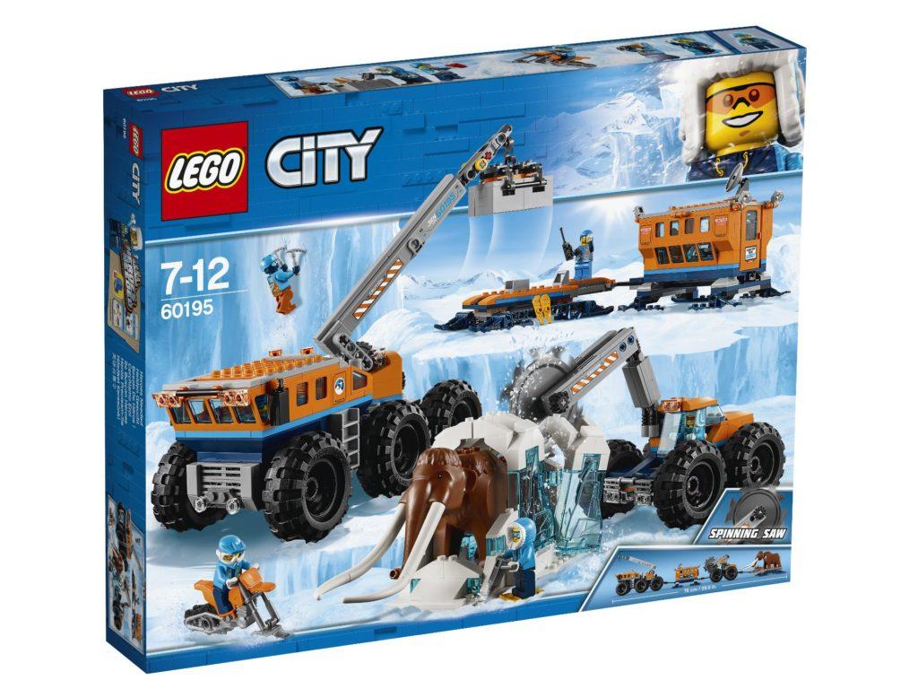 LEGO® City Mobile Arktis-Forschungsstation (60195) - Packung | ©LEGO Gruppe