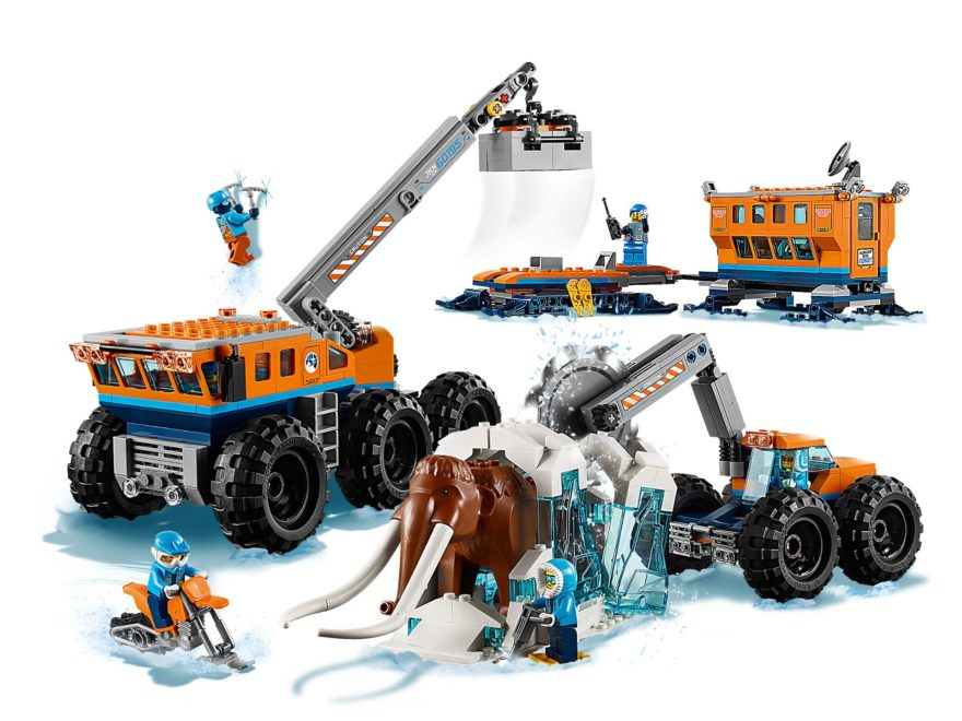 LEGO® City Mobile Arktis-Forschungsstation (60195) - Produkt | ©LEGO Gruppe