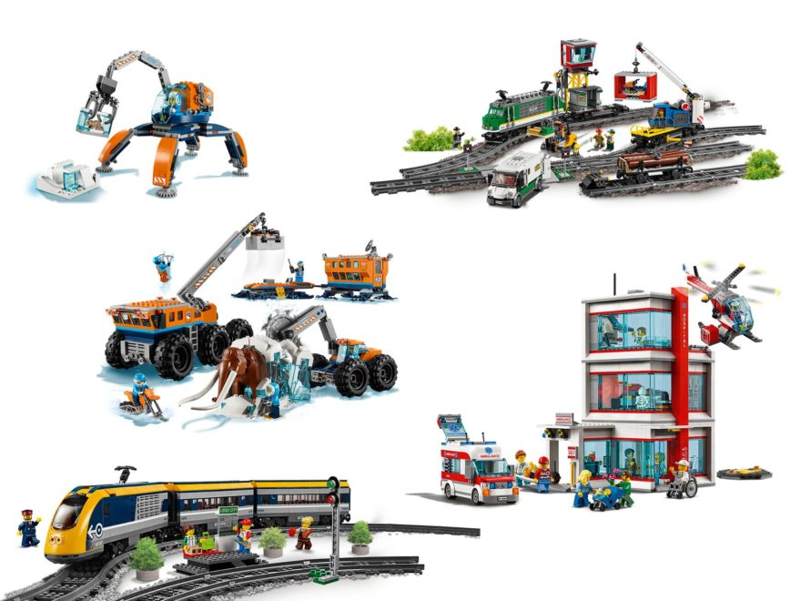 LEGO® City Neuheiten 2. Halbjahr 2018 - Titelbild | ©LEGO Gruppe