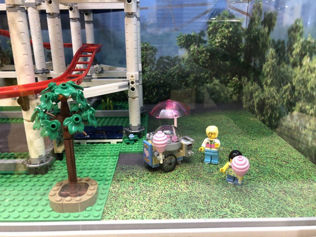 LEGO® Creator Expert Achterbahn (10261) - Zuckerwatte Verkauf | ©2018 Brickzeit