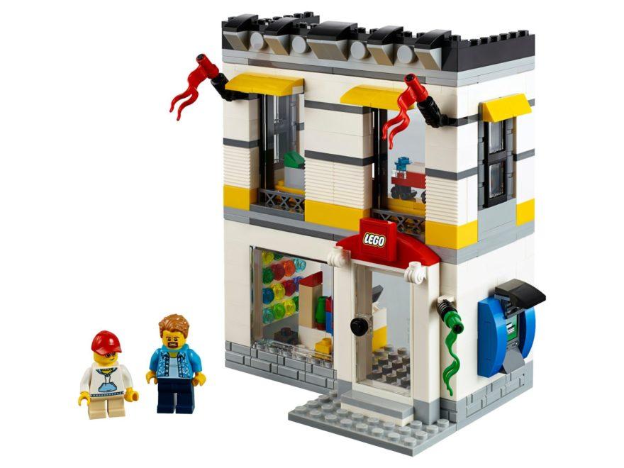 LEGO® Geschäft im Miniformat (40305) - Set | ©2018 LEGO Gruppe