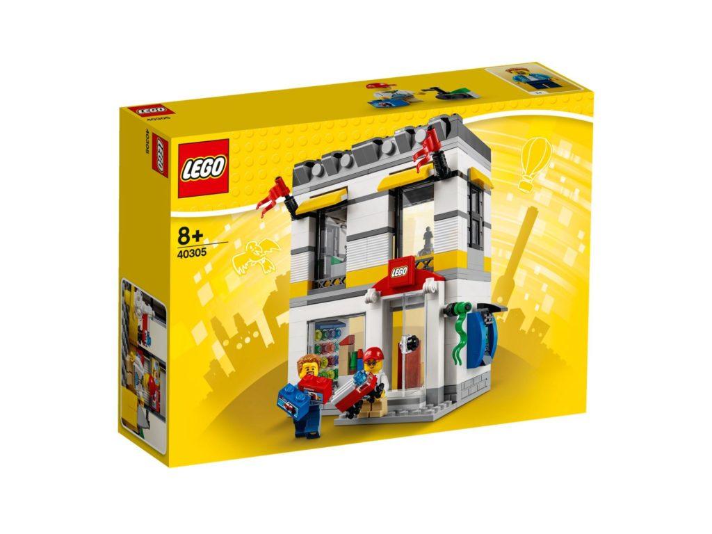 LEGO® Geschäft im Miniformat (40305) - Packung Vorderseite | ©2018 LEGO Gruppe