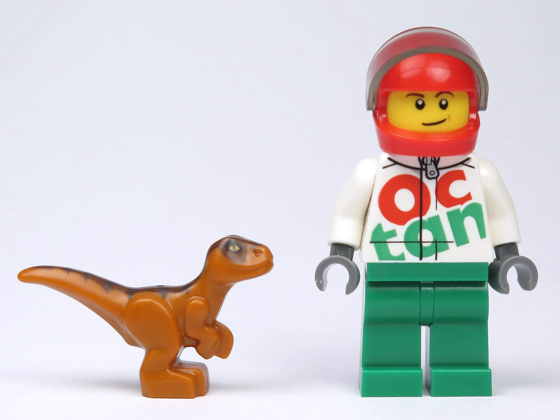 LEGO® Jurassic World™ Magazin Nr. 1 - Größenvergleich | ©2018 Brickzeit