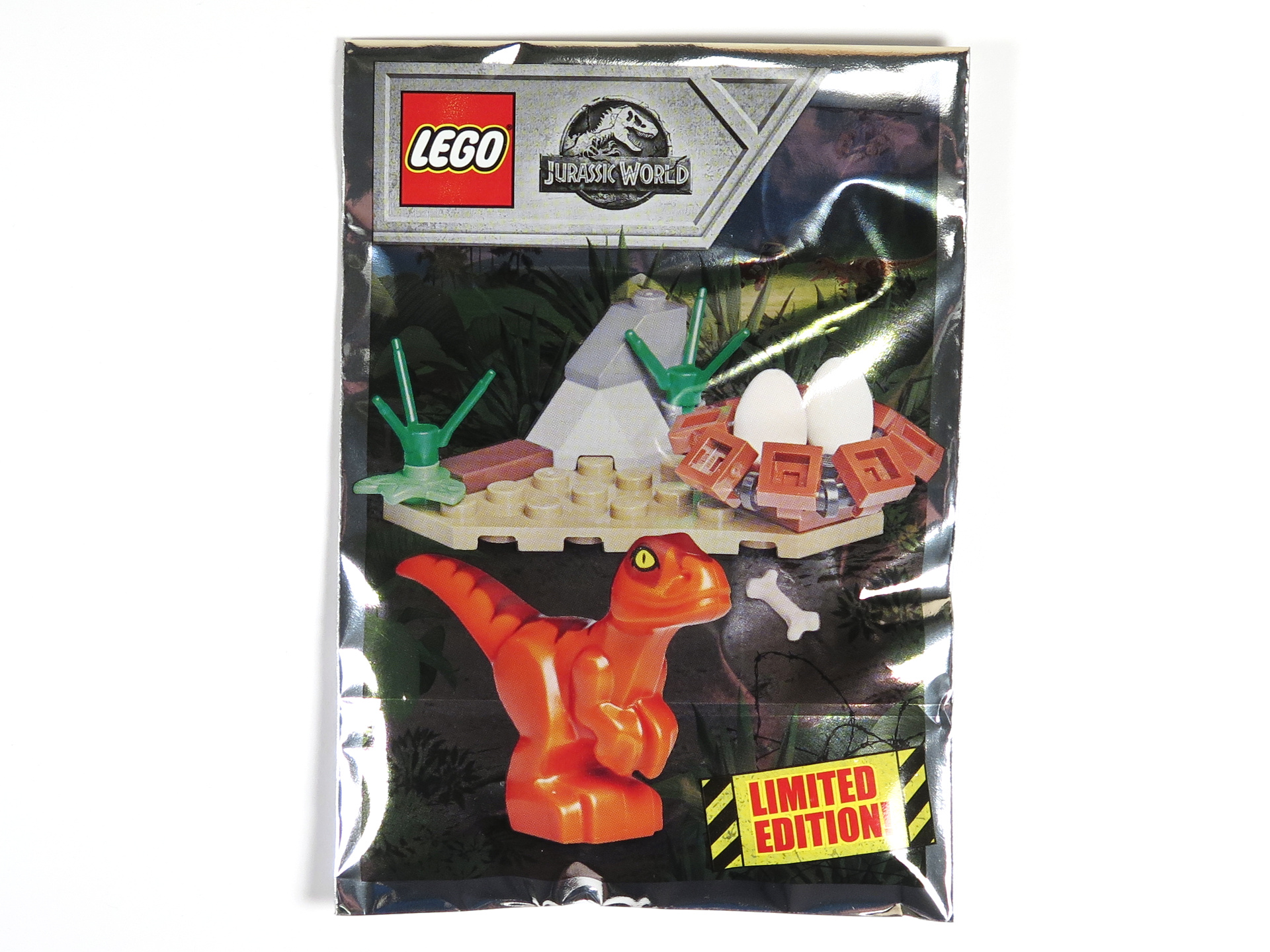 LEGO® Jurassic World™ Magazin Nr. 1 - Polybag | ©2018 Brickzeit