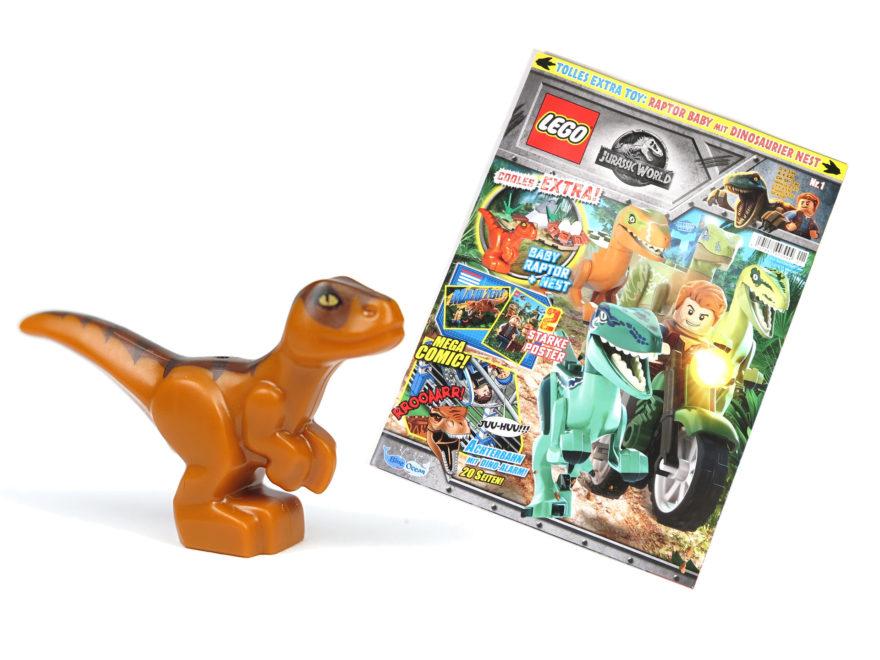 LEGO® Jurassic World™ Magazin Nr. 1 - Titelbild | ©2018 Brickzeit