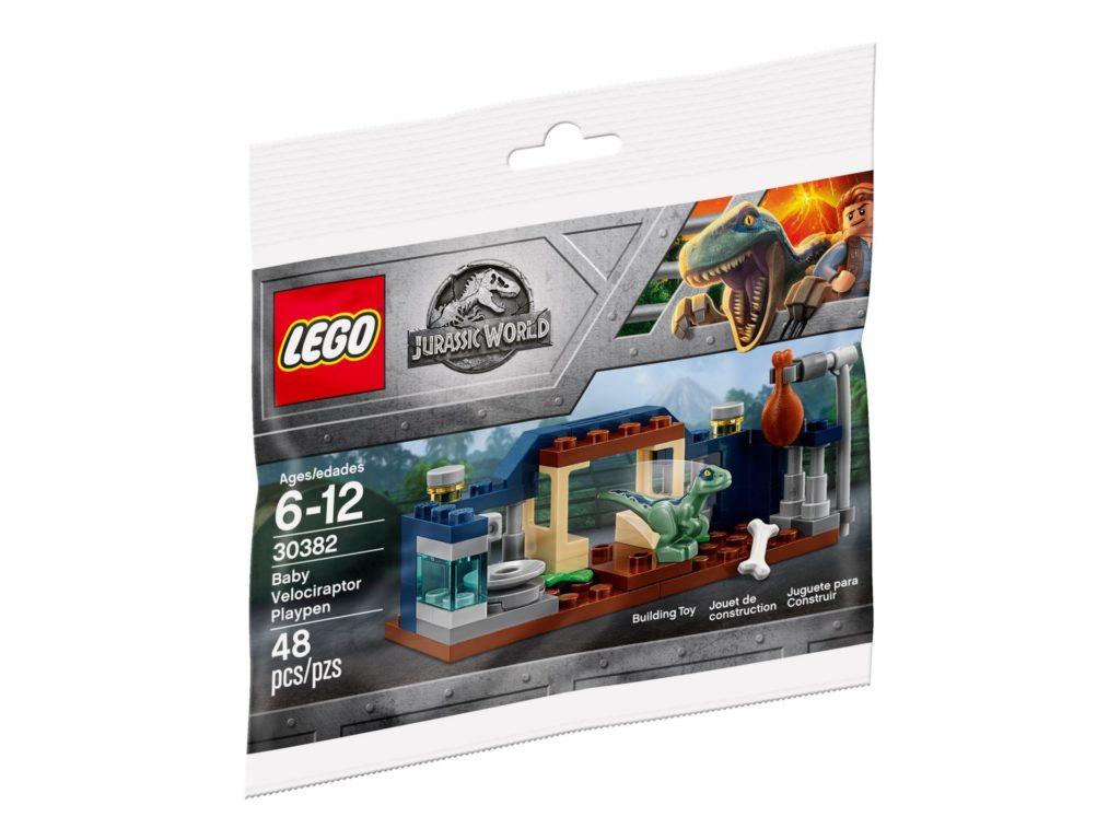 LEGO® Jurassic World™ Spielgehege für Baby-Velociraptor (30382) - Polybag | ®LEGO Gruppe